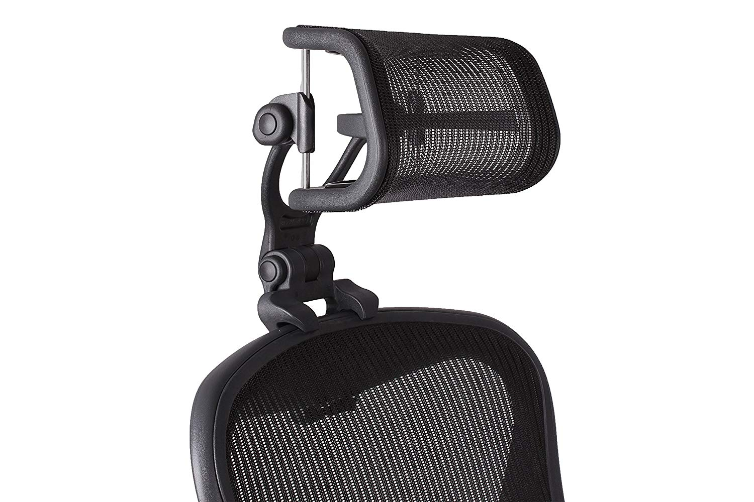 The Original Headrest for The Herman Miller Aeron Chair H48 Carbon  Colors  and Mesh Match Classic Aeron Chair 48 and Earlier Models